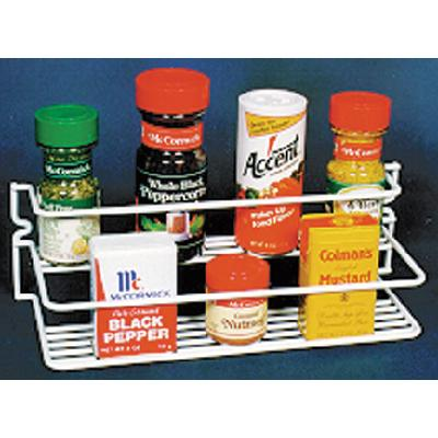 A P Products 004506 Double Spice Rack (Grayline)