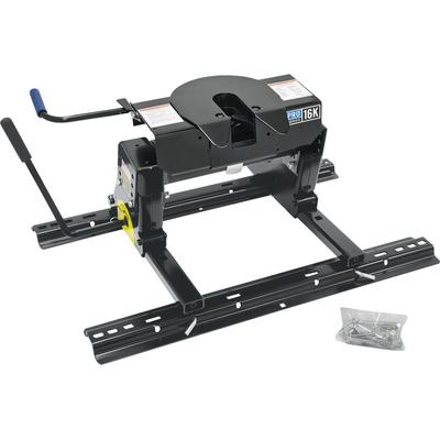 Fulton Products 30858 Pro Series™ 16K Fifth Wheel Hitch With Square Tube Slider (Reese Pro Series)