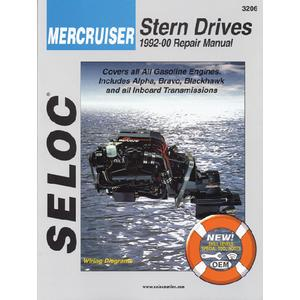 Seloc Publications 3206 SELOC MARINE TUNE-UP MANUALS / MAN MERC92-00 GAS & DRIVES I/B