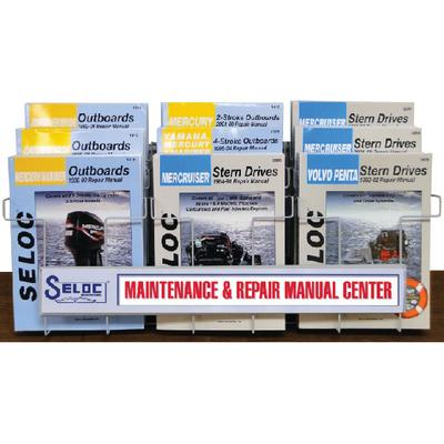 Seloc Publications 545 MANUAL STARTER KIT/DISPLAY RACK / DISPLAY KIT (9 MANUALS & RACK)