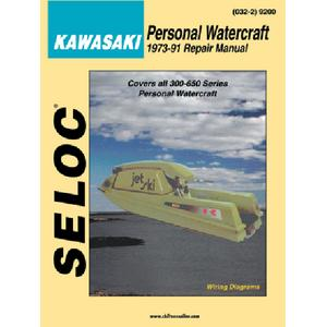 Seloc Publications 9600 SELOC MARINE TUNE-UP MANUALS / MAN YAM PWC JETCAT CAYUNA87-91