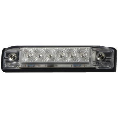 "LED WATERPROOF UTILITY STRIP LIGHT 4/"" BLUE 232 LED51801DP MARINE BOAT LEDS"