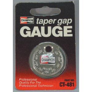 Champion Spark Plugs CT481 SPARK PLUG GAP GAUGE / SPARK PLUG GAP TOOL CT481