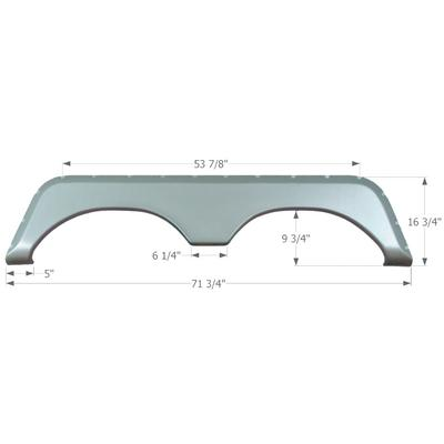 Icon Technologies 01625 Fender Skirts ? Tandem Jayco FS771 (Icon_Technologies)