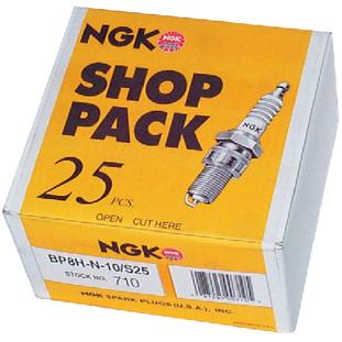 Ngk Spark Plugs BR8HS10SP SHOP PACK SPARK PLUGS / 709 P BR8HS10 SHOP PACK 25/PK