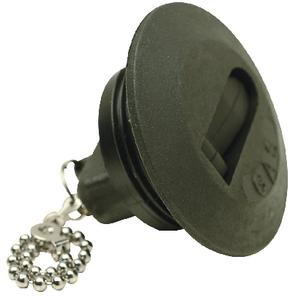 """SEACHOICE Gas Deck Fill Plate Safety Chain Cap Stainless Steel 1 1//2/"""" Hose 32251"""