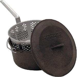 Camp Chef CP12 Cast Iron Fry Pot Set