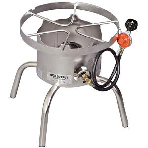 Camp Chef SHPRLSS Stainless Steel High Output Single Burner Cooker