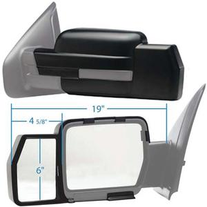K-Source 81810 81810 Snap-On Towing Mirrors (K-Source)