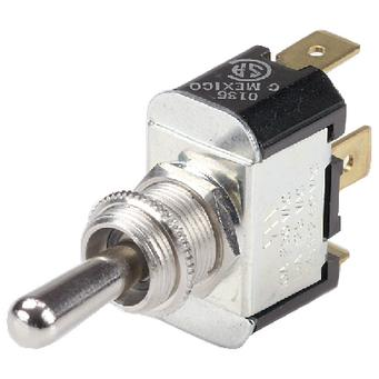 """BOAT MARINE 2 Position Toggle Switch With 6/"""" Wire Leads Off//On 12071"""
