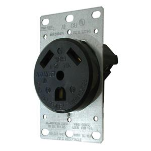 Diamond Group 3830 30A Receptacle With Plate (Diamond_Group)