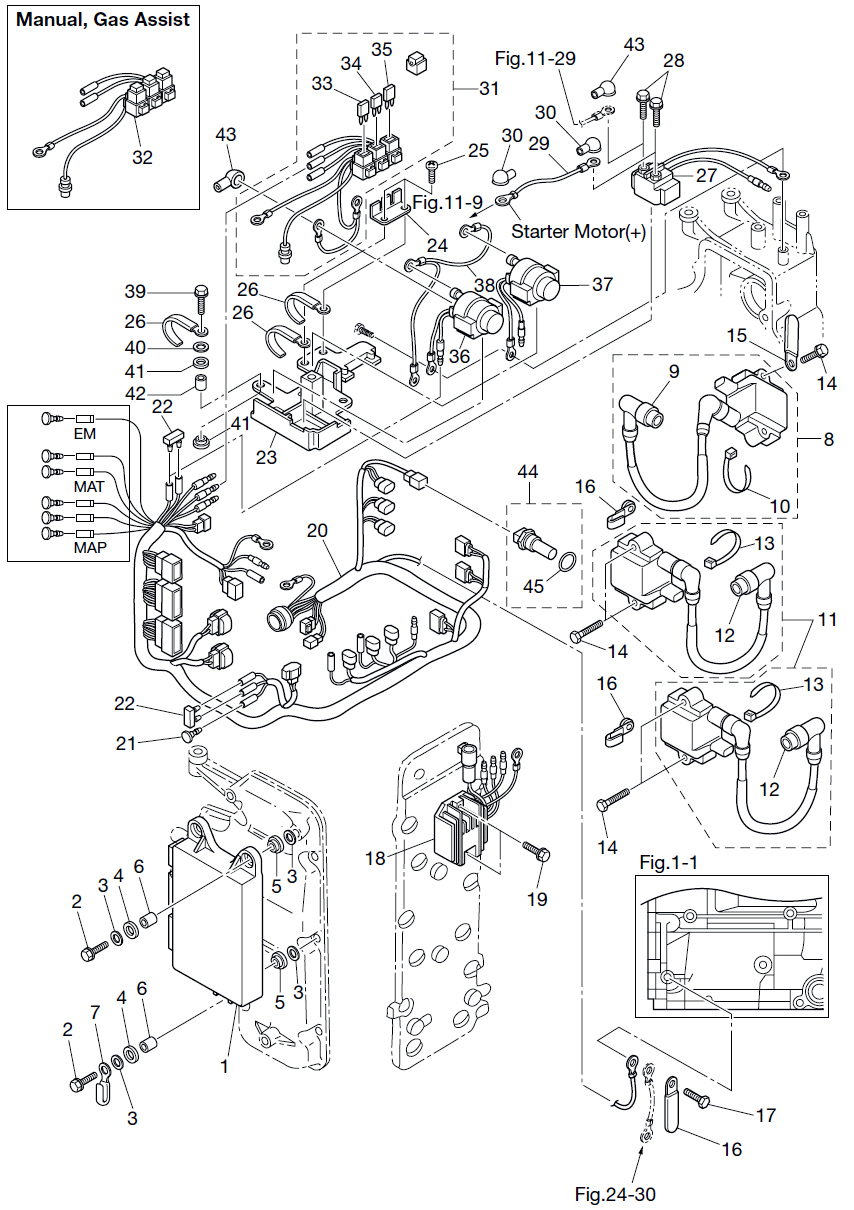 10  electric parts  ecu  u0026 diagram      reliable source of nissan tohatsu boat marine genuine oem
