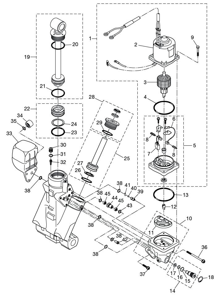 17 Power Trim Tilt Reliable Source Of Nissan Tohatsu Boat