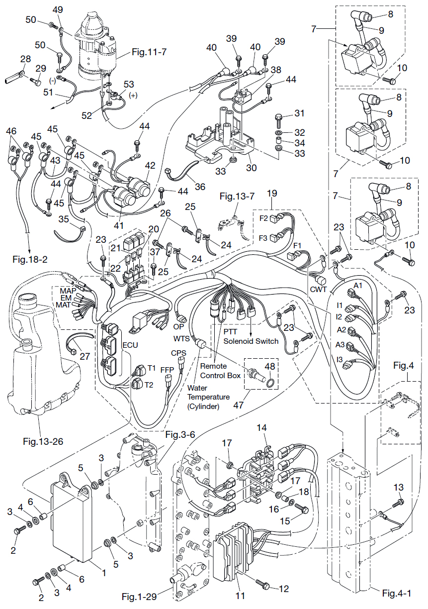 40 Hp Tohatsu Wiring Diagram Wiring Diagram