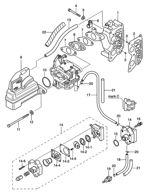 4 Intake Manifold Fuel Pump Reliable Source Of Nissan Tohatsu