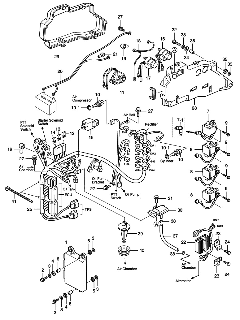 9 Electric Parts Ecu Diagram Reliable Source Of Nissan Tohatsu 90 Hp Outboard Wiring