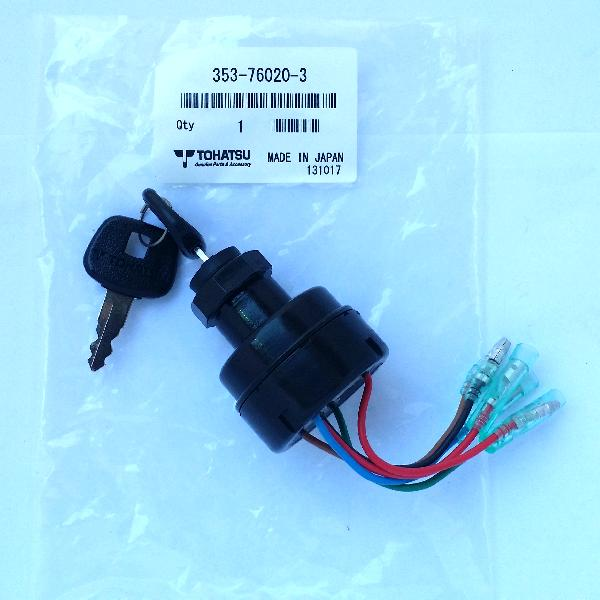 353760203M Main Key Switch Assy (Tohatsu) Can Use 385760201M