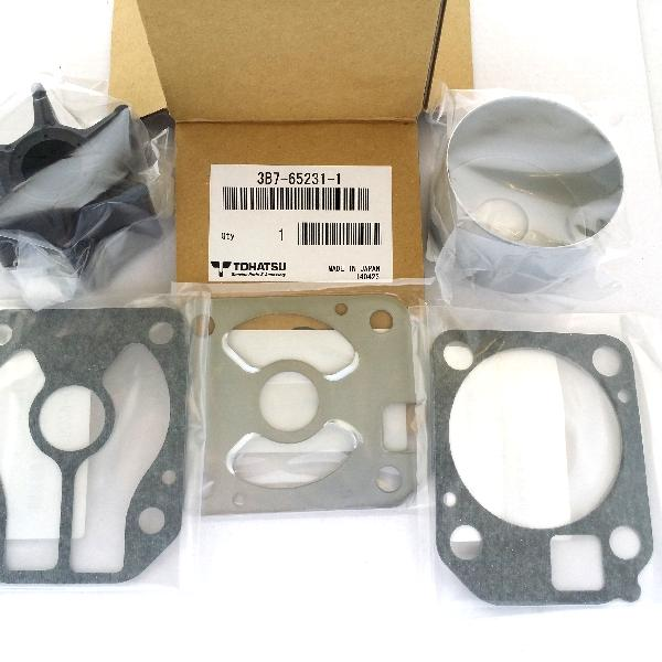 3B7652311M Chrome Plated Water Pump Kit