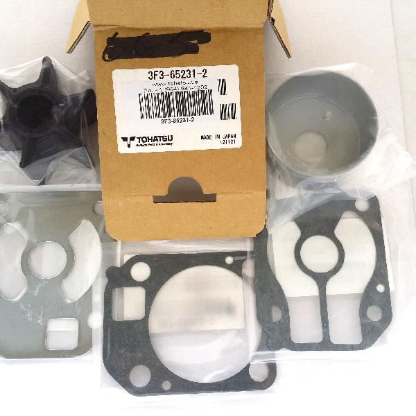 3F3652312M Chrome Plated Water Pump Kit