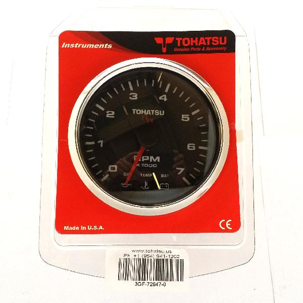 3GF726470M Tachometer - Tldi - Black (FTC1918) Superseded to 3GF726471M