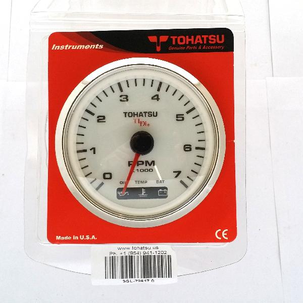 3GL726470M Tachometer - Tldi - White (FTC1912) Superseded to 3GL726471M