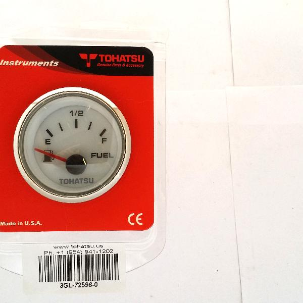 3GL725960M Fuel Level Gauge 2in - White (FGP8007)