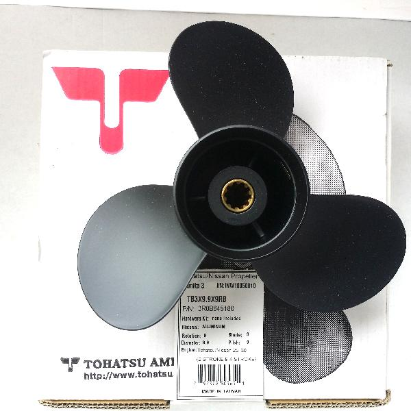 3R0B645180 Propeller Ds 9 (9.8 Dia X 9.3 Pitch) Black