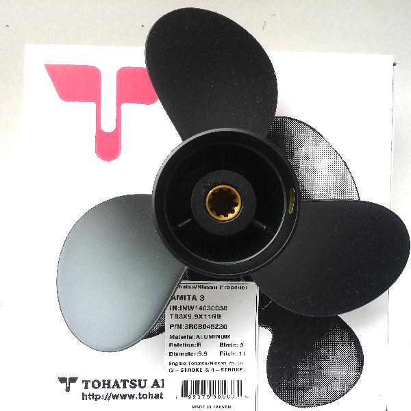 3R0B645230 Propeller Ds 11 (9.8 Dia X 11 Pitch) Black