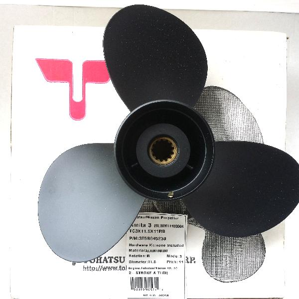 3T5B645230 Prop 40C/40D 50D (11.6 Dia. X 11 Pitch) Black